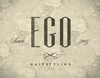 Ego Hairstyling Brand Identity