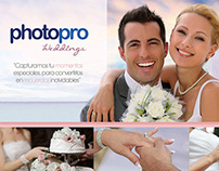 Folleto, PhotoPro Weddings