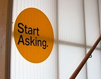 Massey University Open Day signage