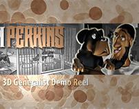 3D Artist Demo Reel (2013)