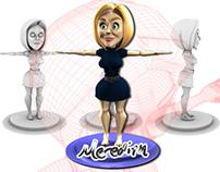 Meredith 3D Model