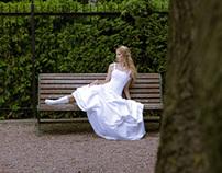 Shooting medieval wedding dresses BTS Von wong photogra