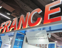 French pavilion - India Nuclear Energy