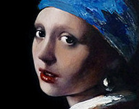 Girl with Pearl Earring redux steps
