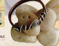 Copper Jewelry Magazine Advertisement