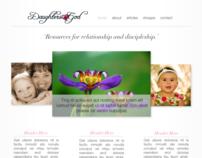 Daughters 4 God Website Design