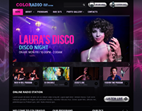ColoRadio Online Radio Station Bootstrap HTML Template