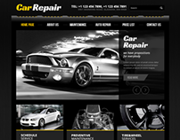 Car Repair Service Twitter Bootstrap HTML Template