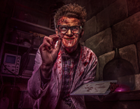 Speedretouching - Horror Nights