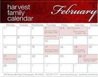 Harvest Assembly Calendar Designs