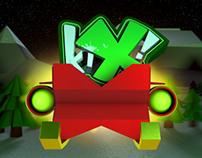 KIX TV Christmas Ident