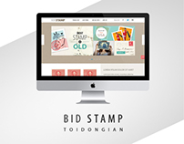 Bid Stamp Layout
