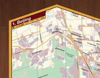 Illustrated Map of Beijing