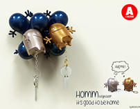 """Contest Alessi In Love """"Homm - Key-Chain & Key-Holder"""""""