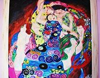 The virgin, Klimt.