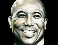 Hines Ward Portrait