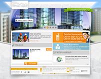 İnşaat Firması Web Sitesi