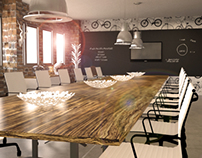 Boardroom Interior Design Render