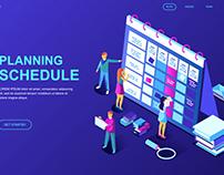 modern-flat-design-isometric-concept-planning-schedule