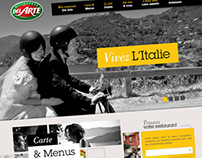 Del Arte Website