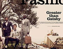 GQ STYLE - Greater Than Gatsby