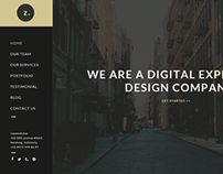 Zero Creative Agency - PSD Template