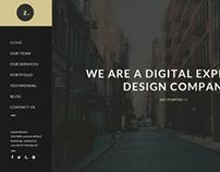 Zero Creative Agency - PSD Template