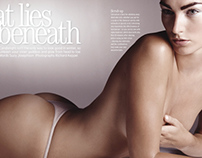 MARIE CLAIRE - What lies beneath