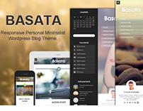 Basata - Retina Responsive Wordpress Blog Theme