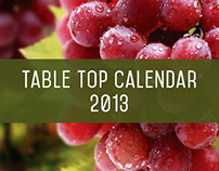 Table Top Calendar for Marhaba
