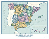 La Tierra Media / The Middle Earth, The Spain of Today