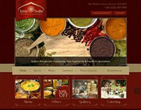 Little Delhi Indian Restaurant Bootstrap HTML Template