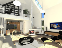 "Small modular house - Interior design ""Silesia"" Poland"