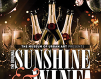 Sunshine and Wine Classic Party Flyer