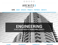 Architex Civil Engineering Bootstrap HTML Template