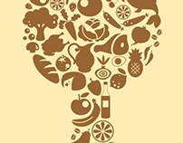 Food Icons Tree
