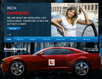 Road Masters Driving School Bootstrap HTML Template