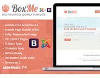 BoxMe - Responsive Multipurpose Joomla Template