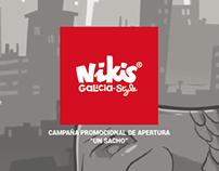 """Nikis Galicia Style """"Un sacho"""""""