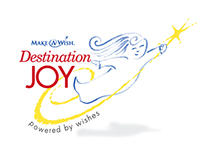 Make-a-Wish Destination Joy Logo