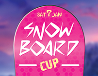 Snowboard Cup Flyer