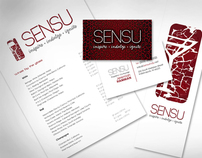Sensu, Pan Asian fusion restaurant & nightclub branding