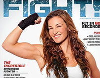 Miesha Tate for Fight Magazine