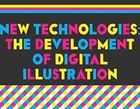 The Development of Digital Illustration - Book design