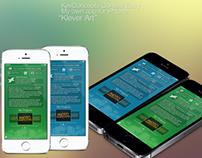 "KevConcepts Contest Entry - ""Klever Art"" iPhone App"