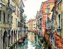 Venetian Canal VII