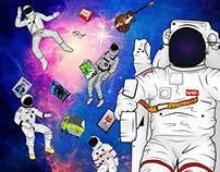 Illustrated History of Space Suits
