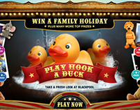 Blackpool Hook a duck Facebook competition