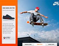 Niketown Kiosk iPad App