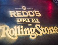 Redd's Apple Ale Event Artwork